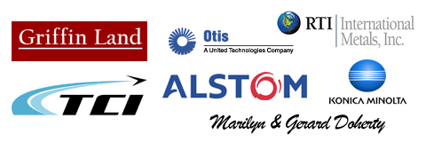 Our Sponsors: Griffin Land, TCI, Otis, Alstom, Marilyn, Konica Minolta, RTI International Metals, Inc.